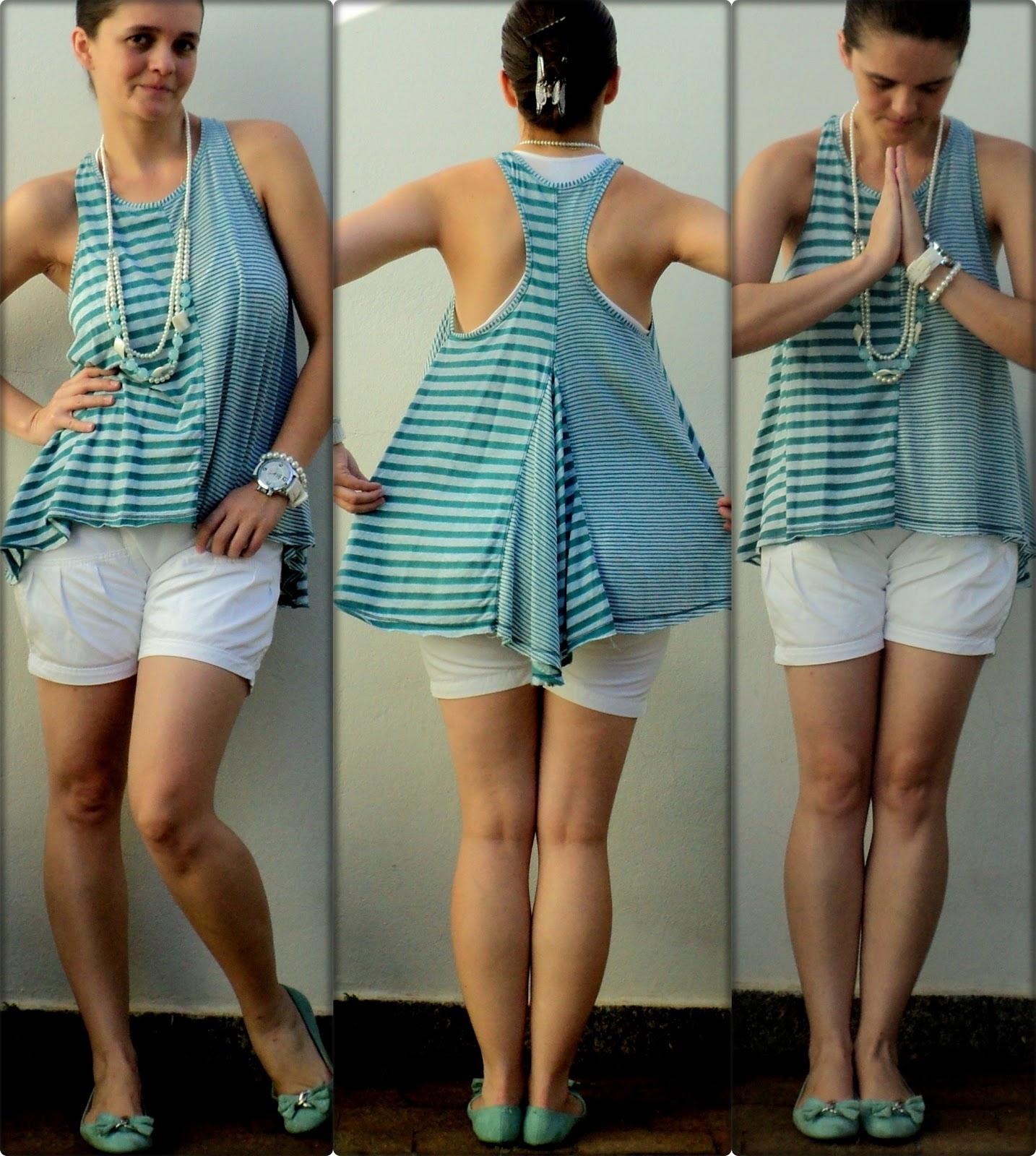 .as costas dessa blusa que quase não uso é o charminho dela, tem um bico. 3b03cd593a