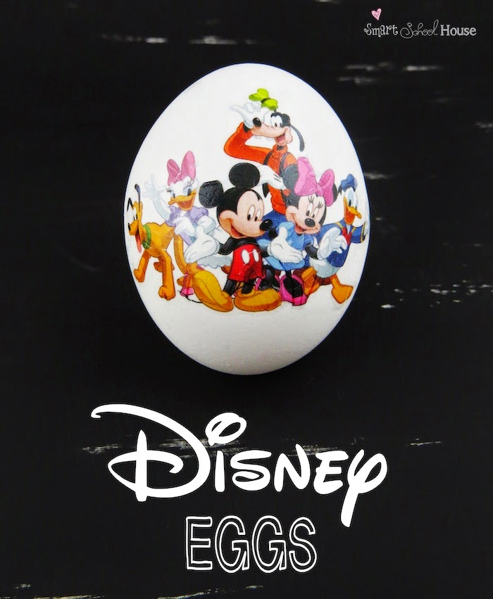 Diy disney decorated eggs do it yourself ideas and projects this project is easier that using the traditional egg coloring kids plus the possibilities are endless i cant wait to teach you this easter craft solutioingenieria Gallery