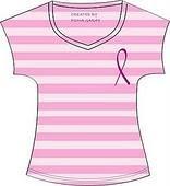 Camiseta contra el cáncer.