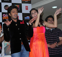 'Grand Masti' Audio released at R-City Mall by Star cast of the movie
