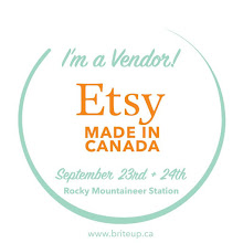 Etsy Made in Canada September 23rd + 24th