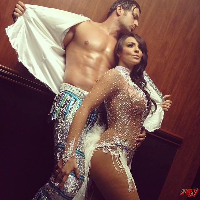 Backstage Photo of Layla And Fandango.