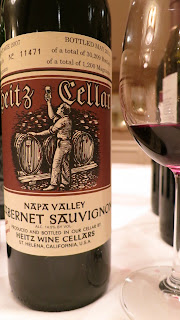 2007 Heitz Cellar Cabernet Sauvignon from Napa Valley
