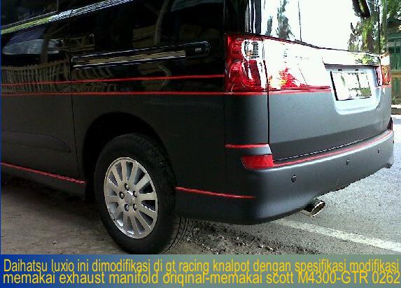 Photo Daihatsu Luxio Modifikasi