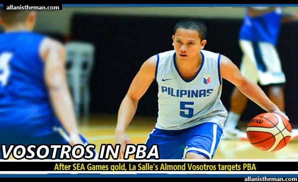 After SEA Games gold, La Salle's Almond Vosotros targets PBA