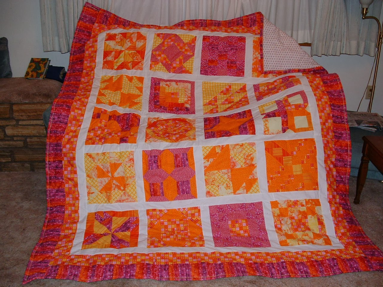 Quilt to Brighten the Alaskan Winter
