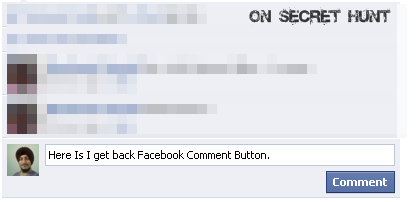 get+back+comment+button2 How To Get Old Facebook Comment Button Back In Mozilla/Chrome