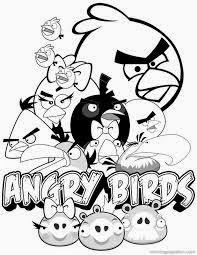 angry bird mewarnai keren