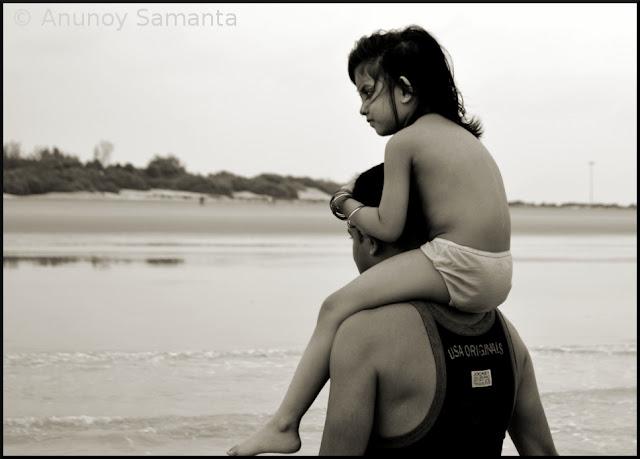 Tajpur Beachscape - Daddys Girl