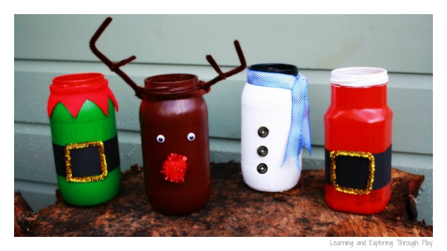 Learning and exploring through play diy christmas painted luminaries solutioingenieria Images