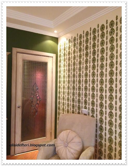 dekoratif duvar boyama