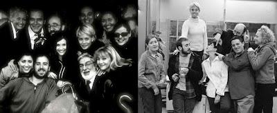 Fotos del elenco de la ficción de Telecinco 'Periodistas'