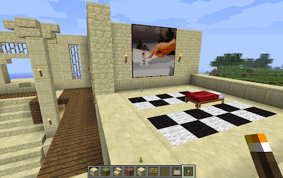minecraft screenshot building new house