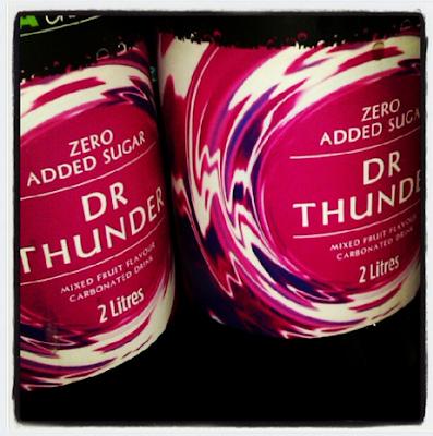 Dr Thunder, Asda, fizzy pop,