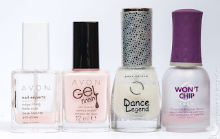 Avon Gel Finish Sheer Love + Dance Legend Top Sahara