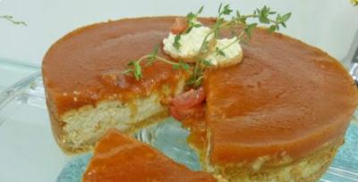 Cheesecake de sardinha