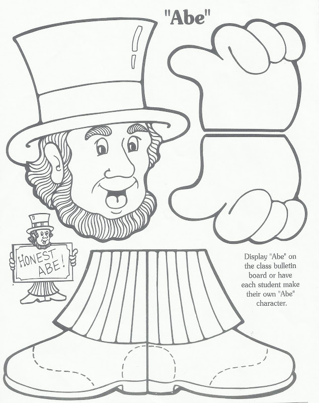 Coloring Pages For Presidents Day