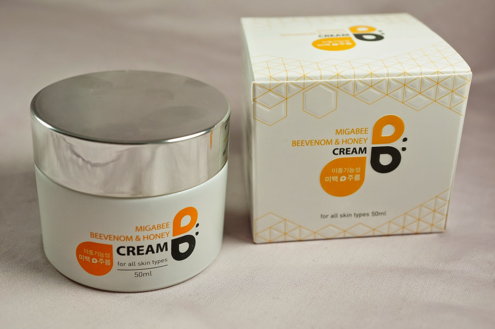 Memebox Special #42 OMG Unboxing Review Migabee Bee Venom Honey Propolis Royal Jelly Cream