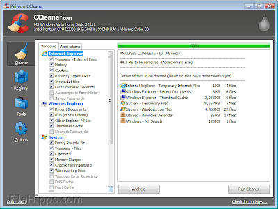 CCleaner 4.04.4197 Free Download