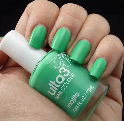 Ulta3 Mojito Nail Polish