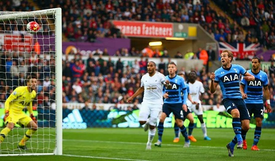 Swansea 2 x 2 Tottenham - Premier League 2015/16