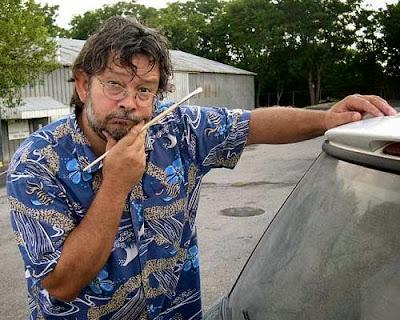 Scott Wade. Artista en pintura de coches sucios