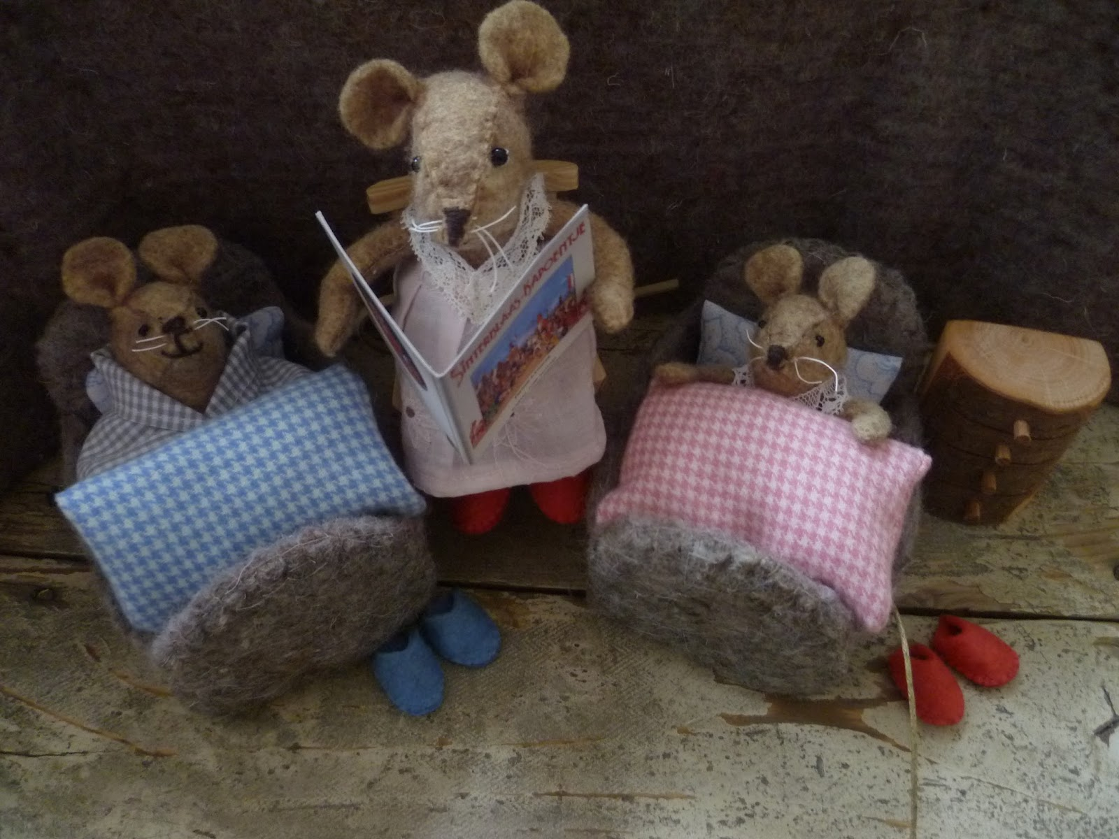 Grethilde: de holletjes van familie muis