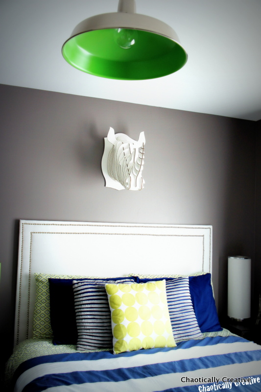 Easy Lighting for Boy's Room