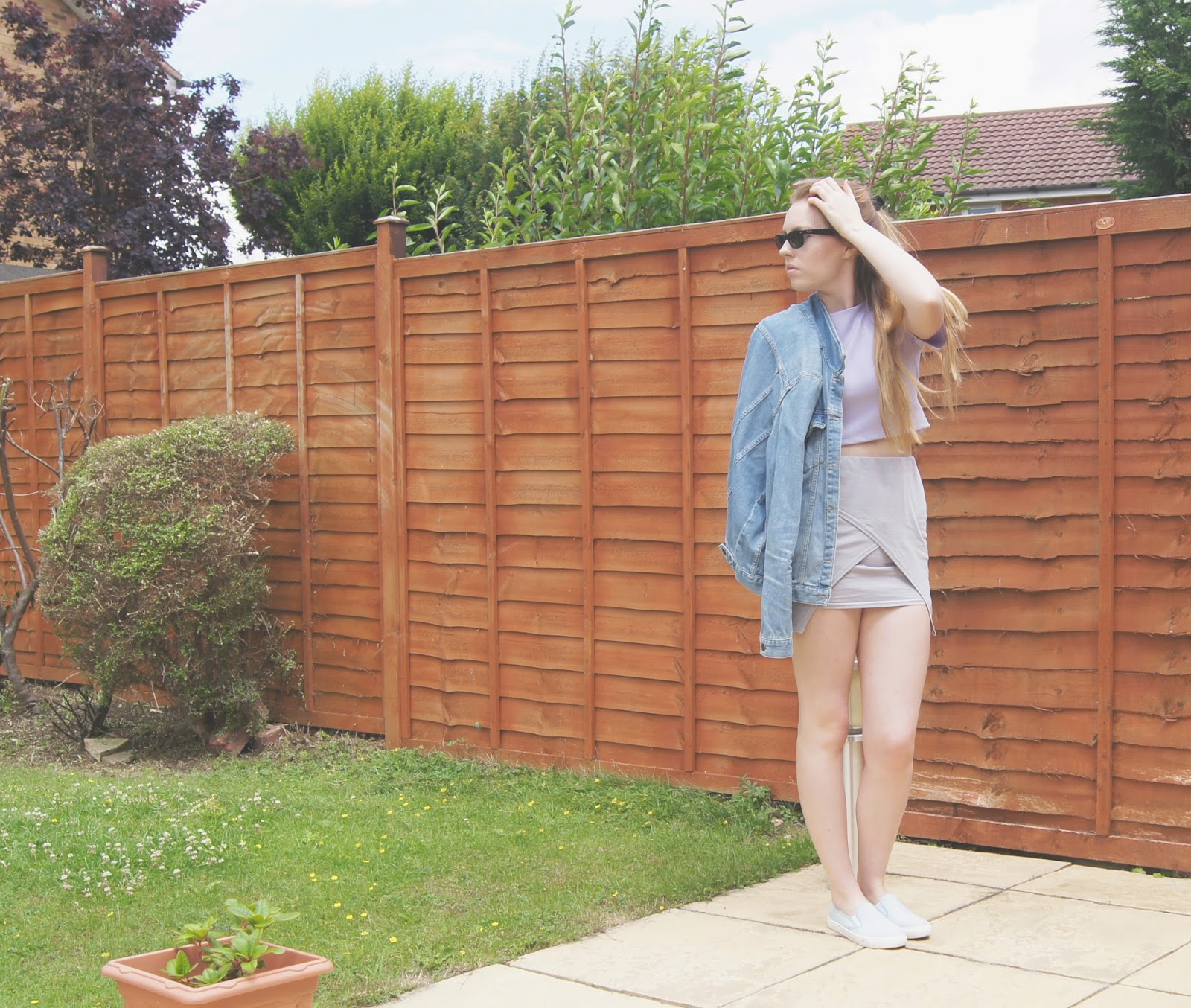 pastel summer colours outfit