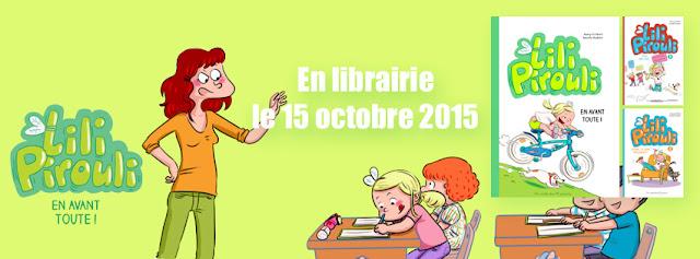 Lili Pirouli T3 : En avant toute ! - voir la présentation