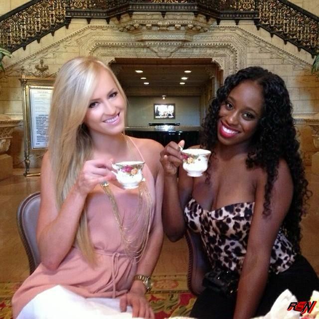Summer Rae Having Tea with Naomi.