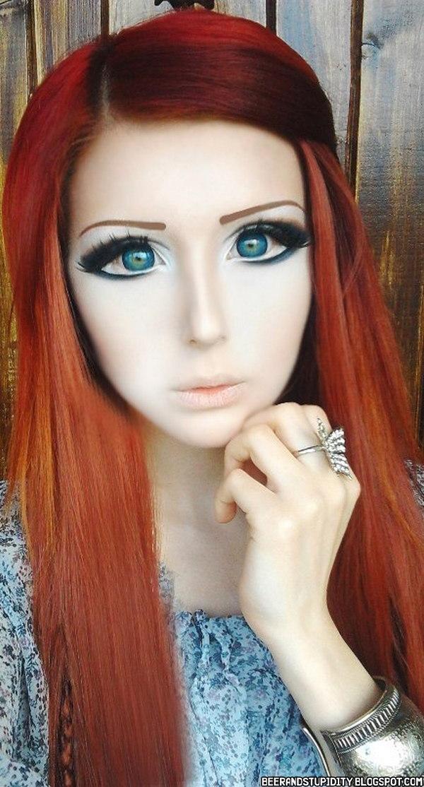 barbie schminke