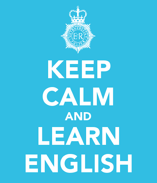 Keep calm and learn english