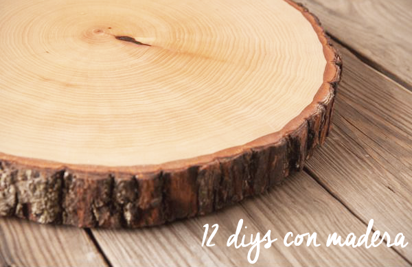 Mi armario coqueto inspiracion diys de decoracion con ramas - Troncos de madera para decorar ...