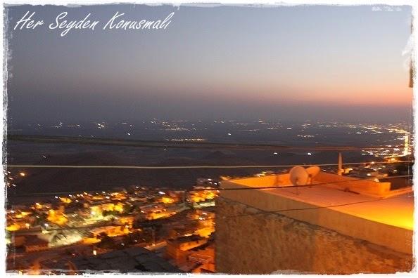 Mardin'den gece manzarası