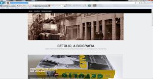 """Visite o site """"Getúlio"""""""