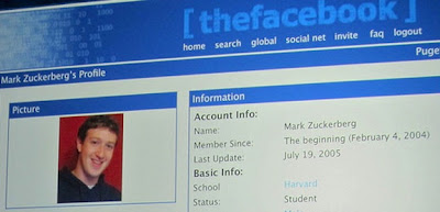 Facebook,Mark Zuckerbergs