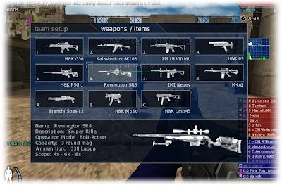 Armas de Urban Terror