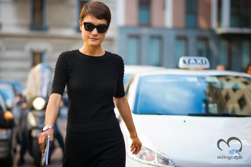 mitograph Konca Aykan Before Alberta Ferretti Milan Fashion Week 2014 Spring Summer MFW Street Style Shimpei Mito