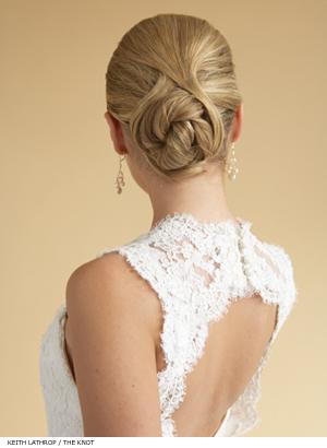 simple wedding hairstyle. Wedding Hairstyles elegant