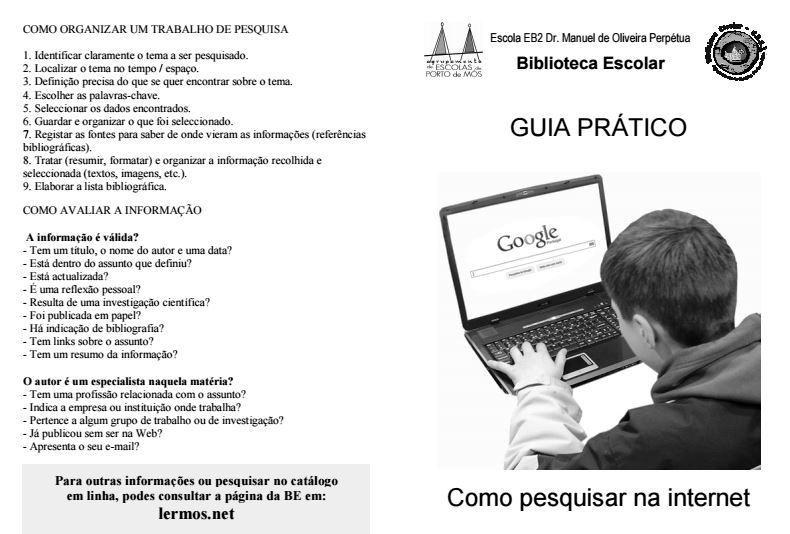 Literacia da Informação-Guia Prático