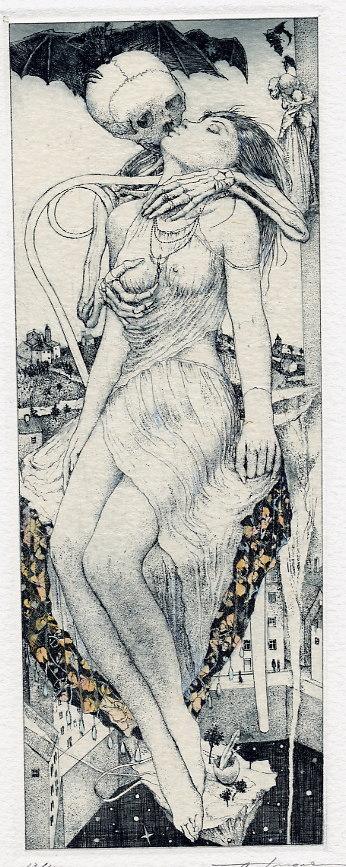Erotic ex libris alphonse inoue - 1 7