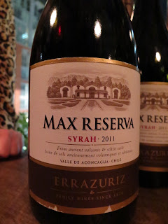 Wine Review of 2011 Errázuriz Max Reserva Syrah