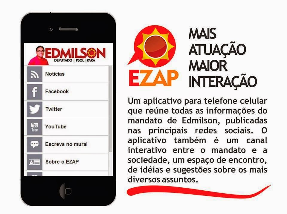 EZAP | Aplicativo do deputado Edmilson Rodrigues