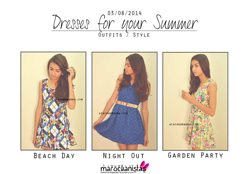 summer lookbook dresses for your summer marockanistas project blog mode maroc african fashion blog