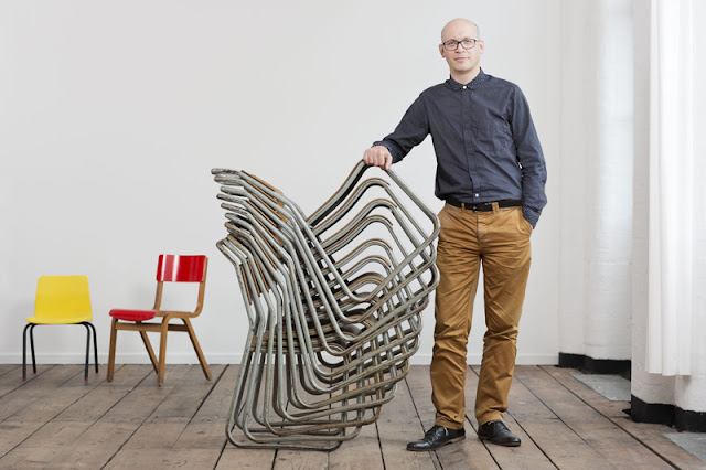 Alex Milton, Director of Irish Design 2015, image by Christopher Heaney