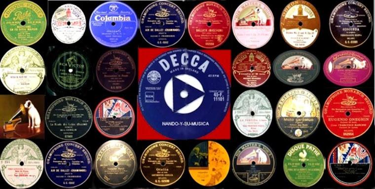 DISCOS EN 78 RPM