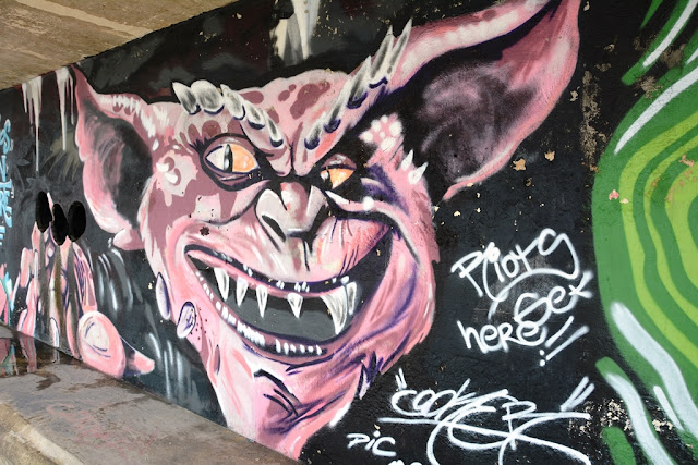Graffiti St. Julians devil