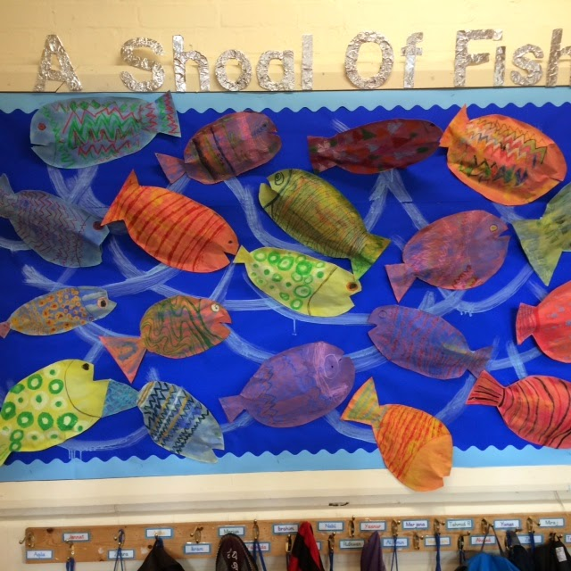 Fish craft for kids for Fish for kids
