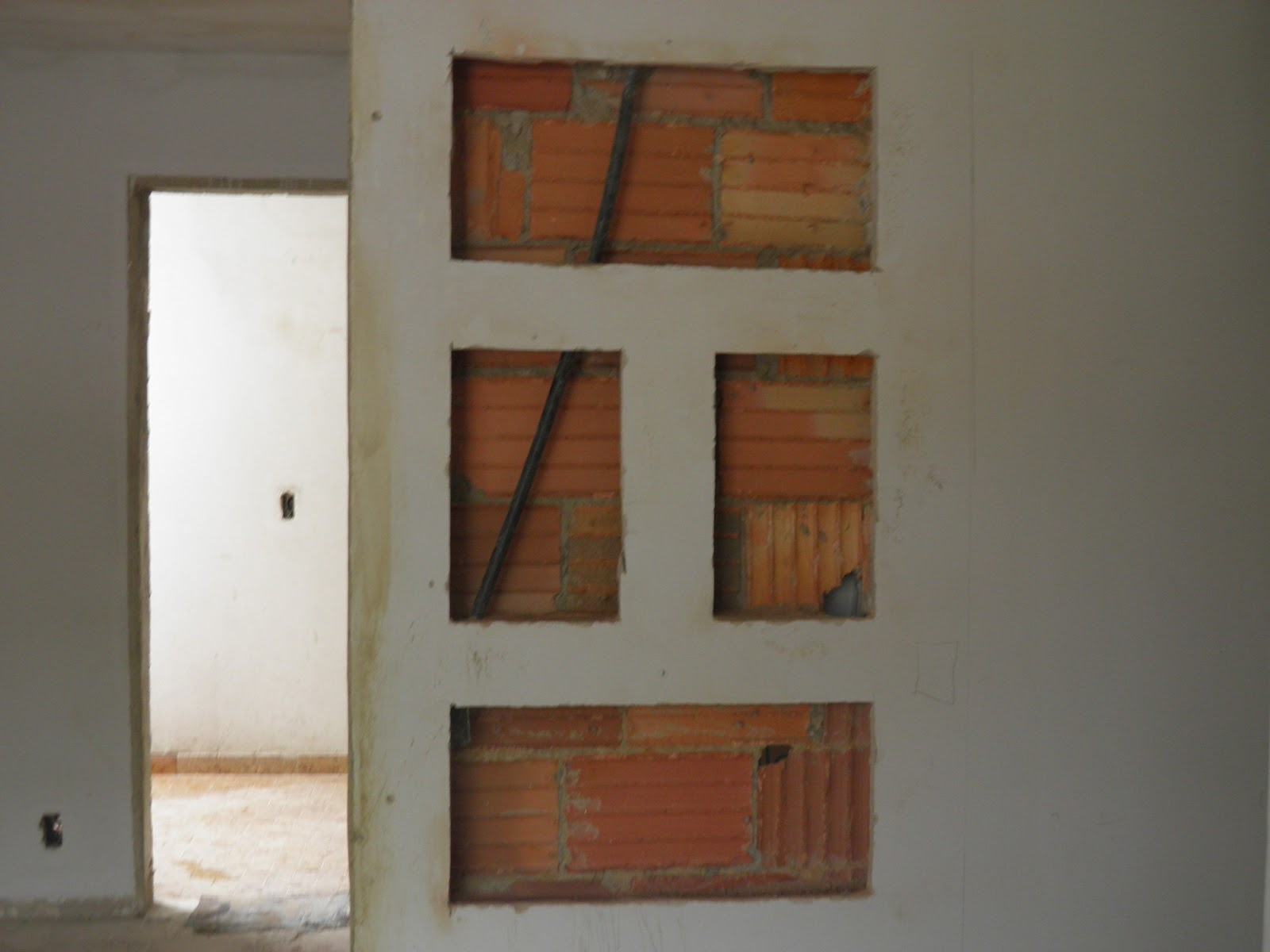 passo foi pensar como revestir o nicho há várias formas como  #66422A 1600x1200 Banheiro Com Nicho Como Fazer